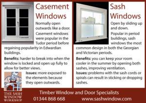 Sash Window Casement Window Comparison