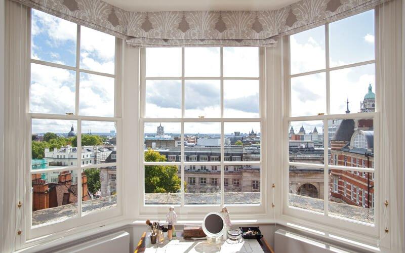 Bay sash window replacement