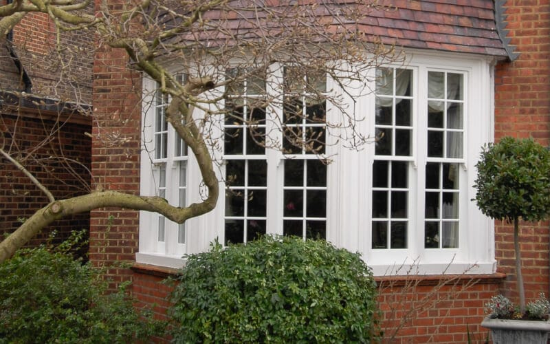 sash window external