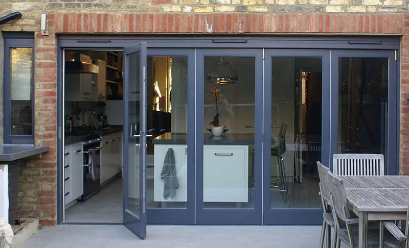 Timber bifolding door London
