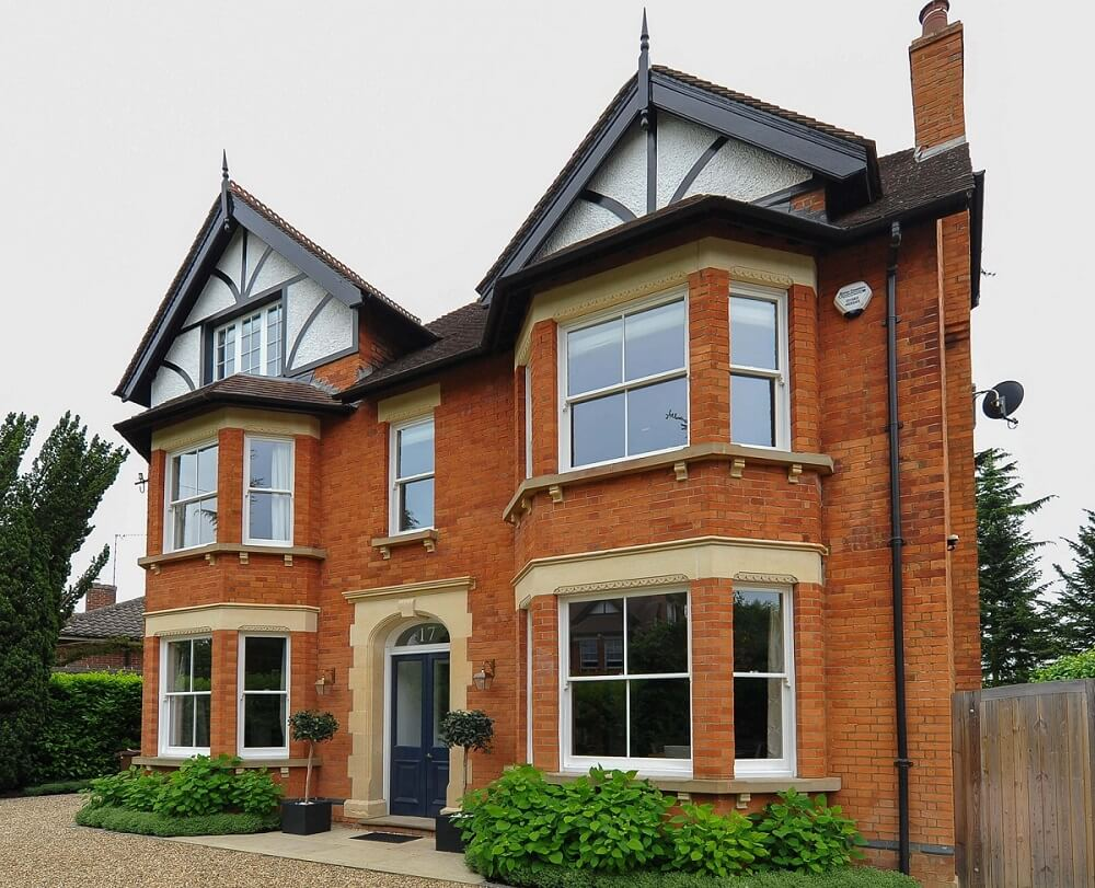 Traditional timber windows and doors