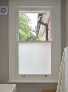 1 over 1 Timber Window