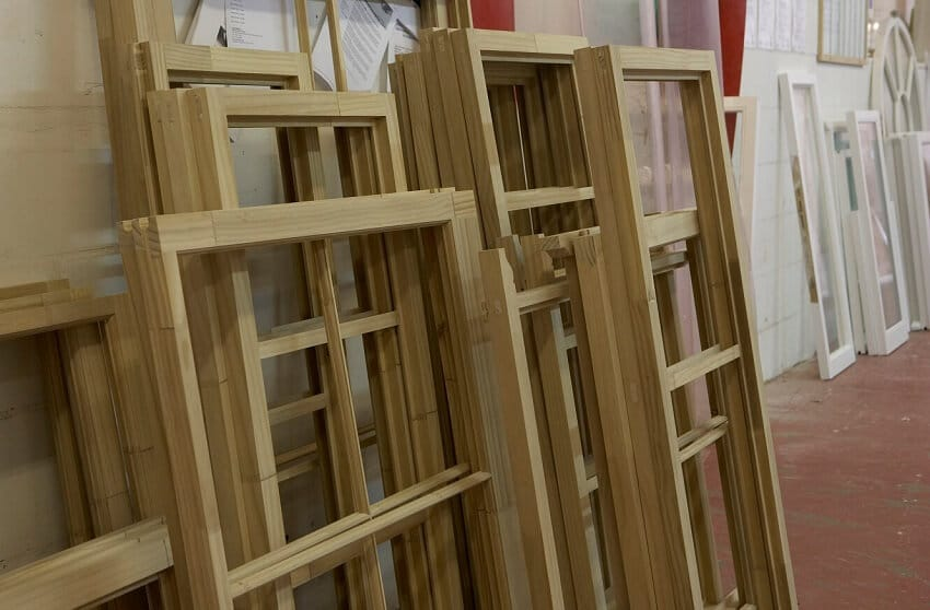 Timber for windows