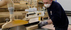 Timber window manufacturing job