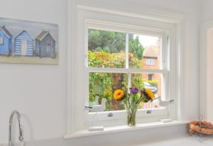 2 over 2 sliding sash window