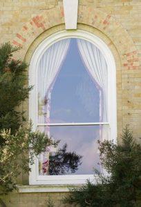 Rounded Sash Window
