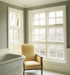 Bathroom Timber Windows