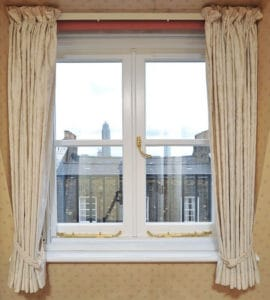 Casement Window with trickle vents