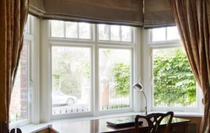 Edwardian timber windows