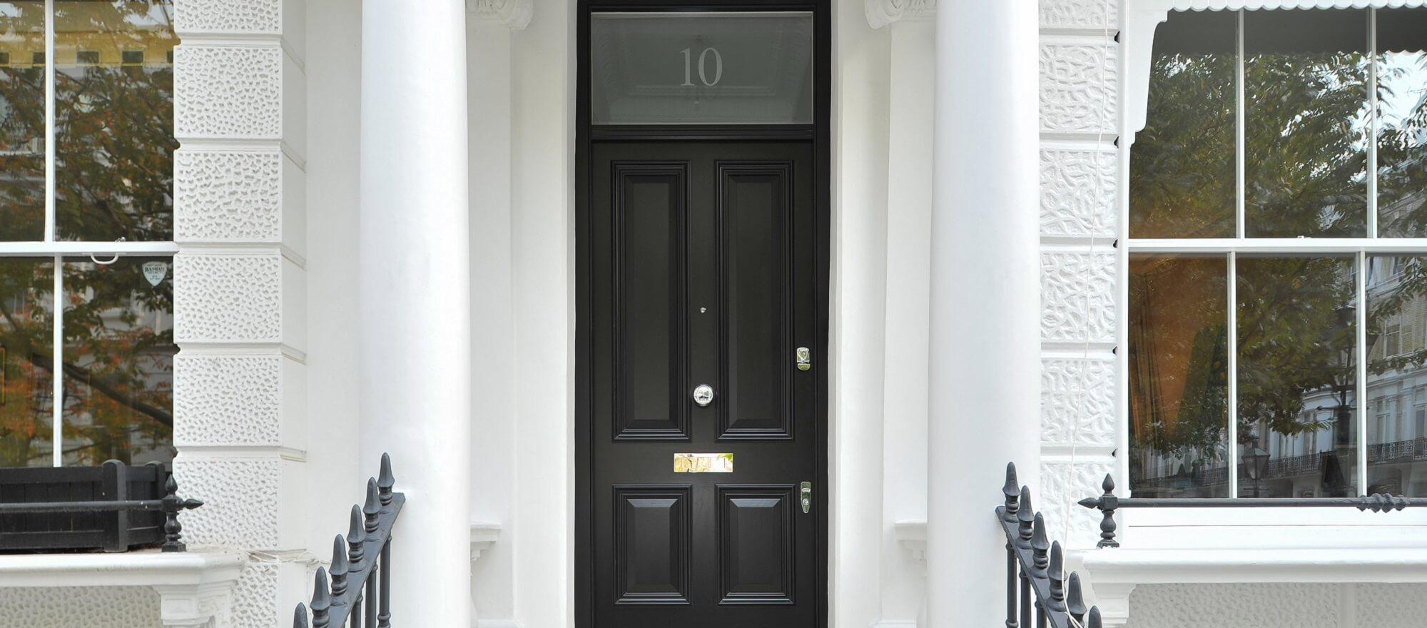 Traditional London Front Door
