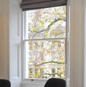 London sash window