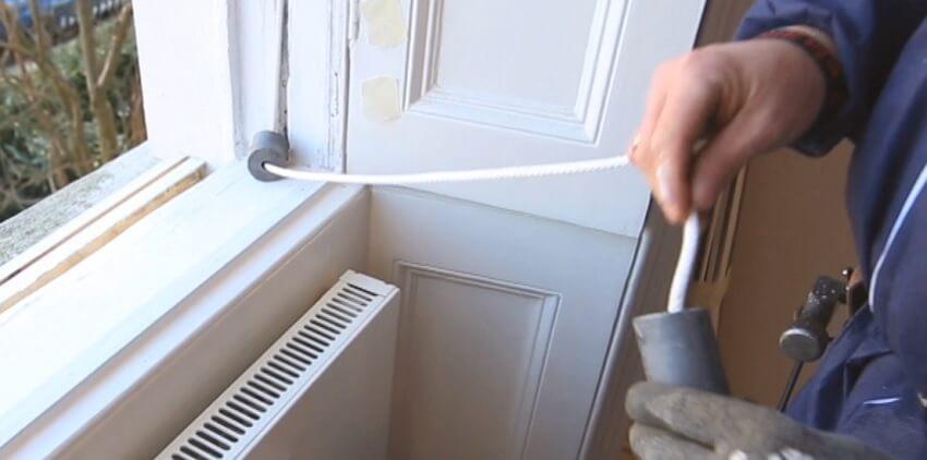 Sash Window Cord Repair