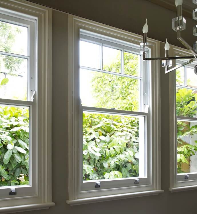 Sash windows renovation project