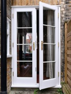 Wooden French Door