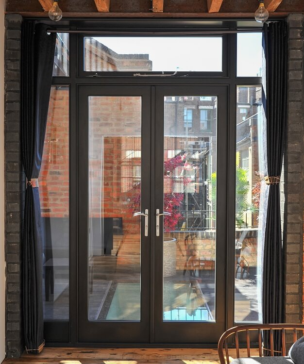 Wooden French Doors East London