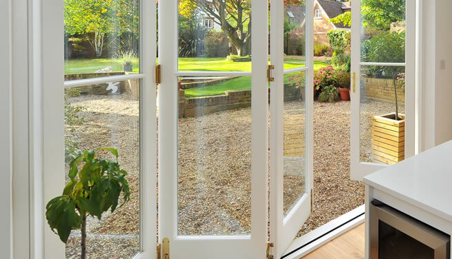 Accoya bifold door Berkshire