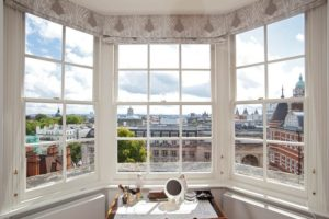 London bay sash window