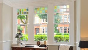 Bespoke sash window office
