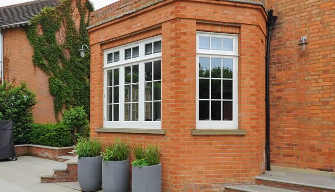 Hertfordshire new timber windows
