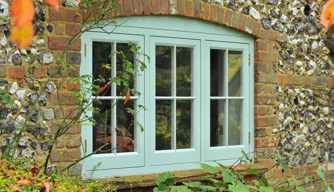 New timber windows
