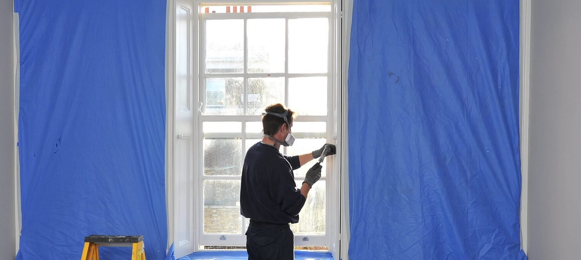 Draught proofing sash window repair