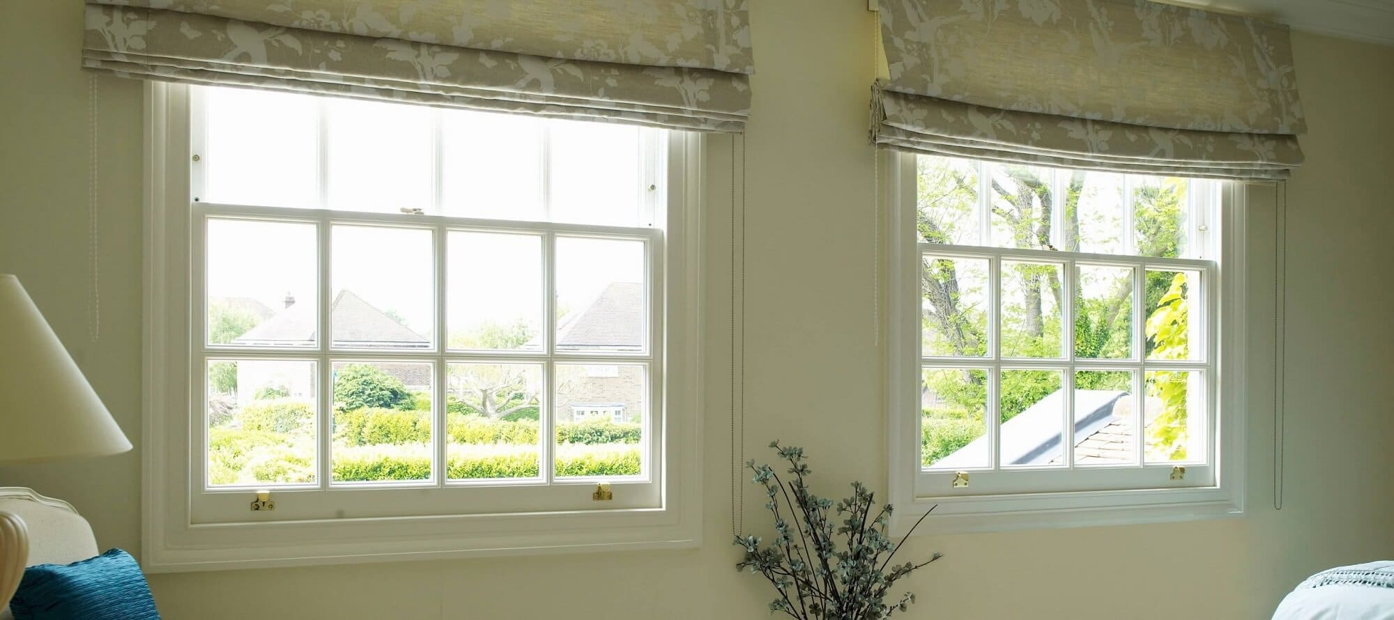 Traditional replacement sash windows