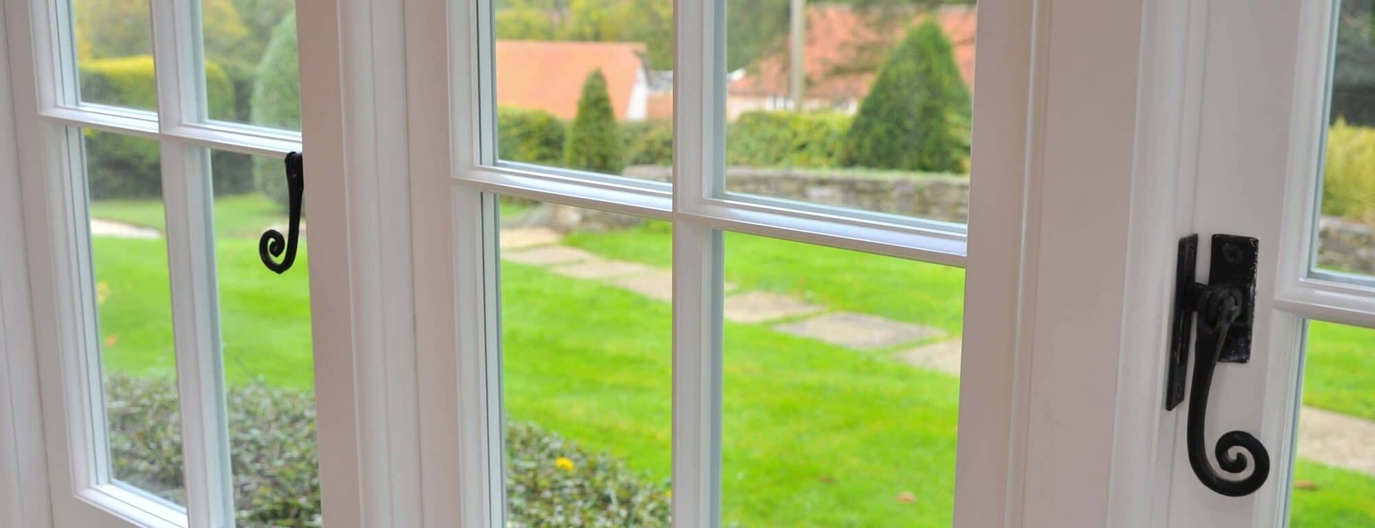 Accoya casement window header