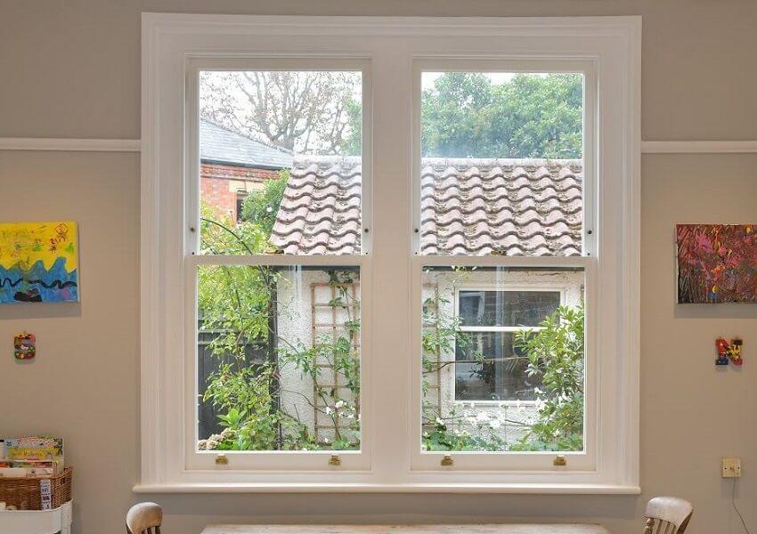 timber windows history