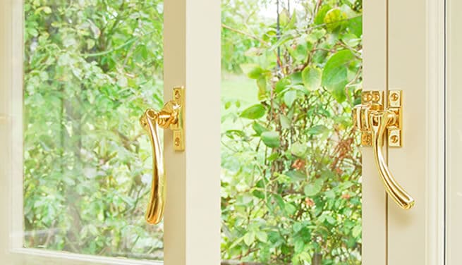 Casement window furniture