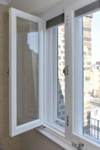 open secondary glazing