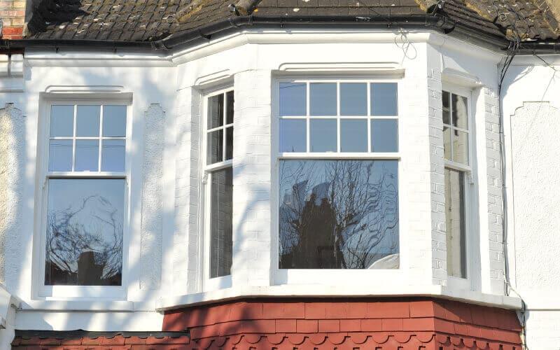 new Edwardian wood sash windows