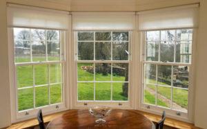 Restore sash window bay