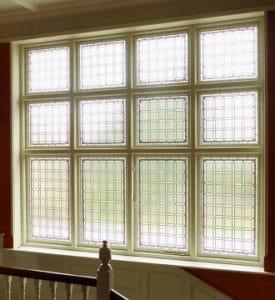 Decorative Glass Feature Window