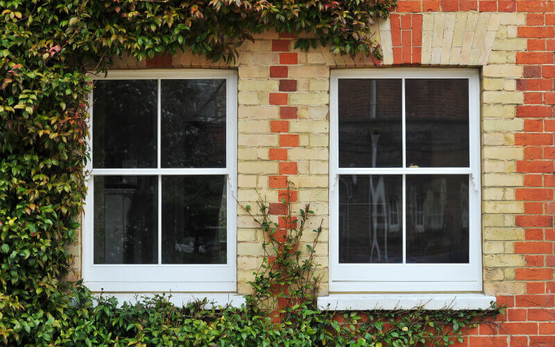 2 over 2 Sash Window