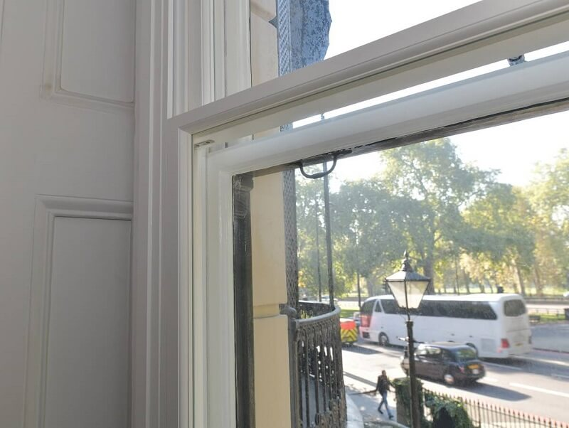 sash window timber secondary glazing
